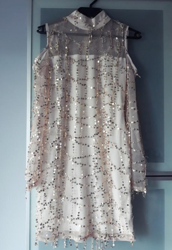 Sukienka Asos złota cekiny rozmiar M...
