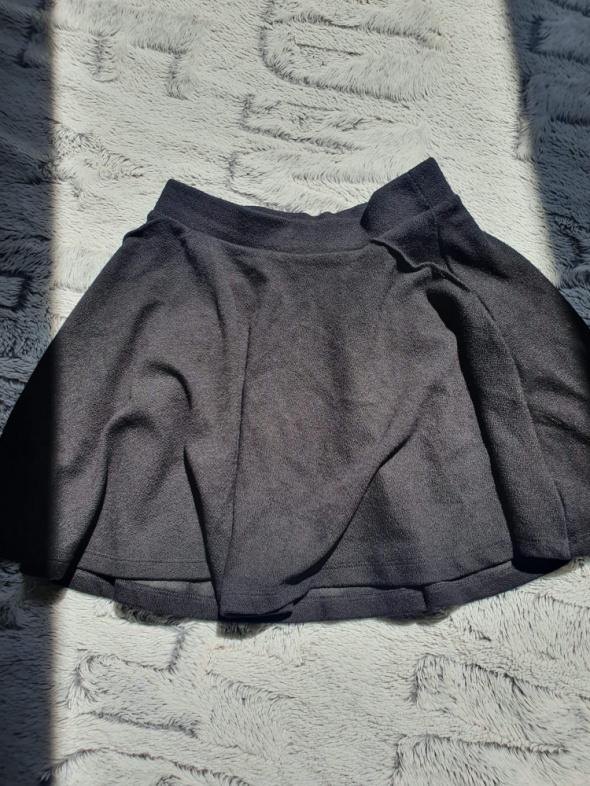 Spódnice Krótka spódnica spódniczka czarna Bershka 36 s