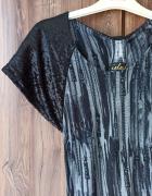 Sukienka nietoperz cekiny wzór w zasuwaki S...