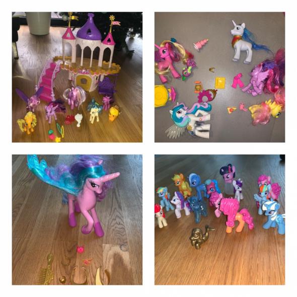 Pałac ślubny zamek my little pony 27 koników akcesoria Celestia