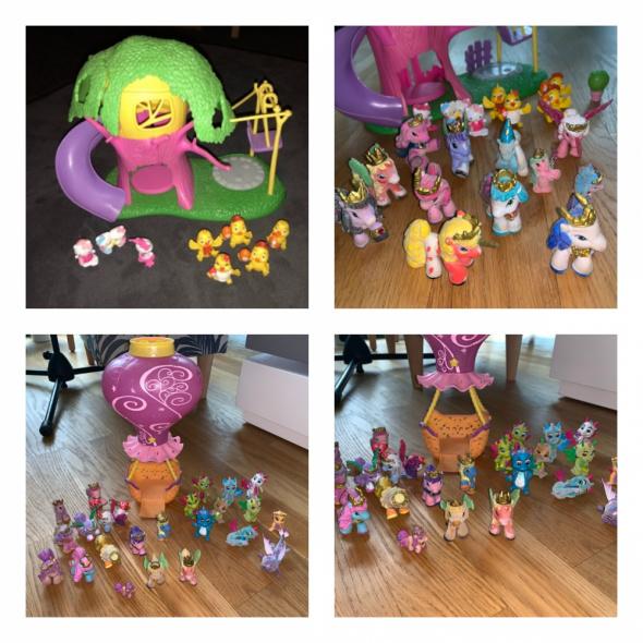Domek na drzewie 12 sztuk Filly My Little Pony Balon lampka