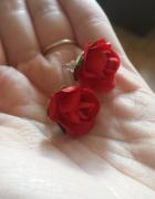 Kolczyki róże...