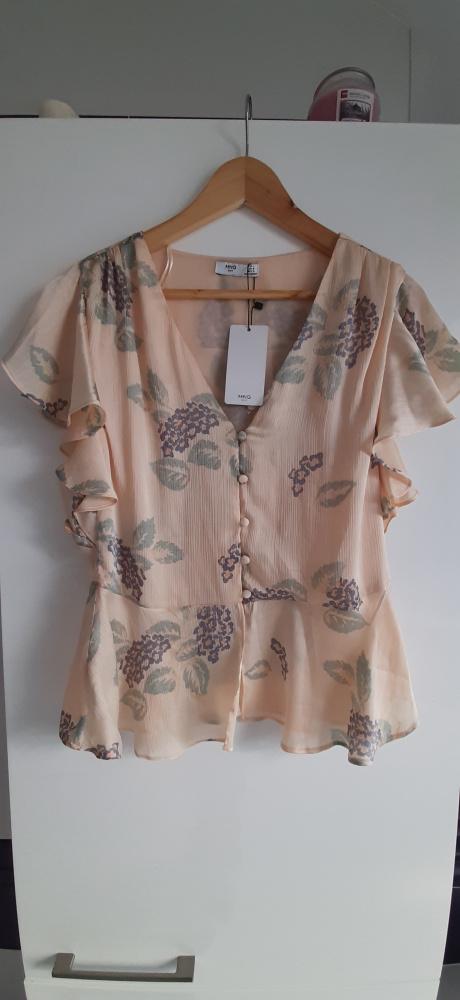 elegancka bluzka Mango rozmiar L