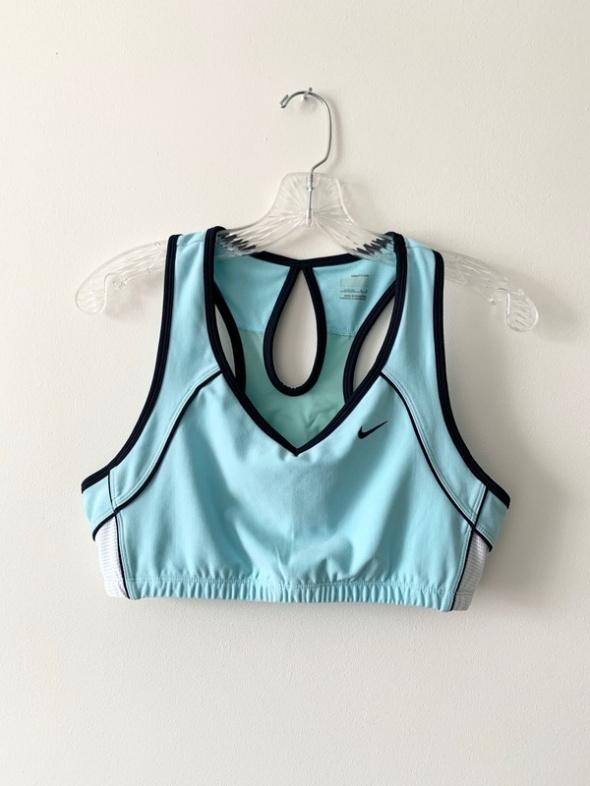 Nike baby blue sportowy stank top crossfit siłownia fitness L