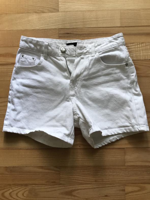 jeansowe szorty mom fit 34...
