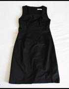 Czarna sukienka z podszewką 38 M bonprix collection...