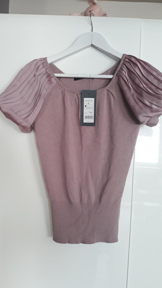Bluzki Reserved biurowy elegancki sweterek bluzka