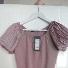 Reserved biurowy elegancki sweterek bluzka