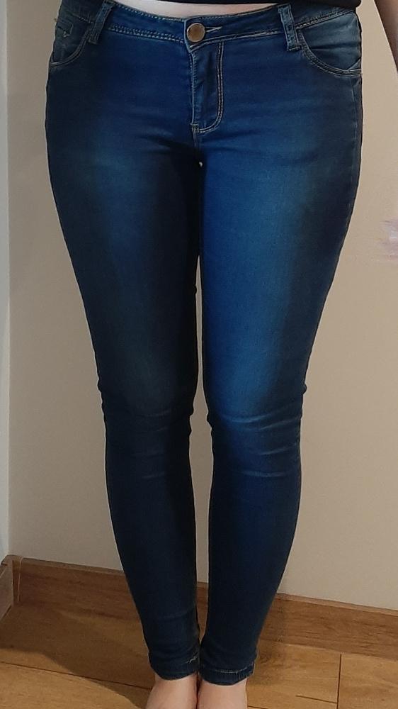 Spodnie skinny dżinsowe M...