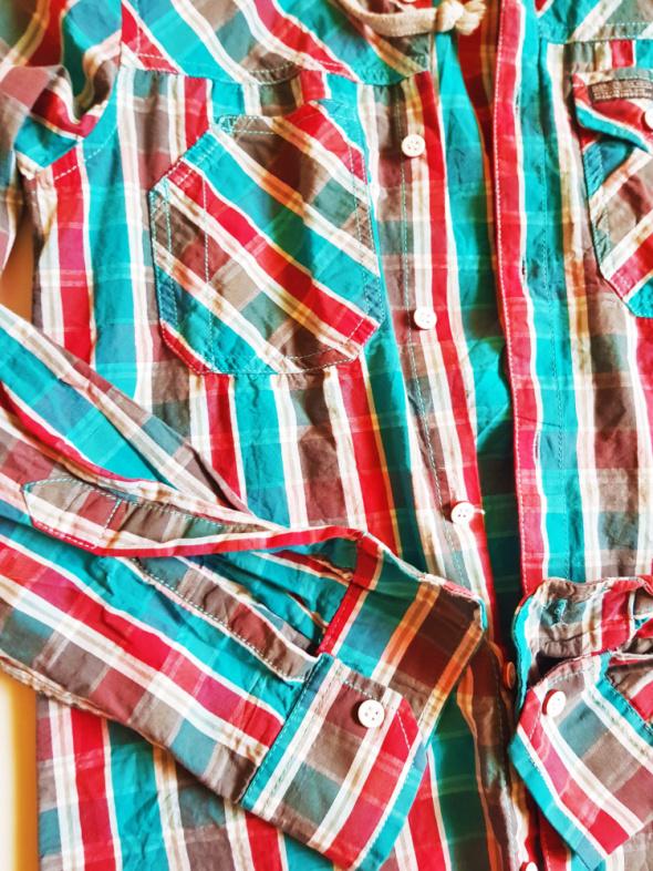 CEDARWOOD STATE Koszula w kratę z kapturem bawełniana XS w  gM191