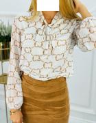 bluzka koszulowa koszula wiązana