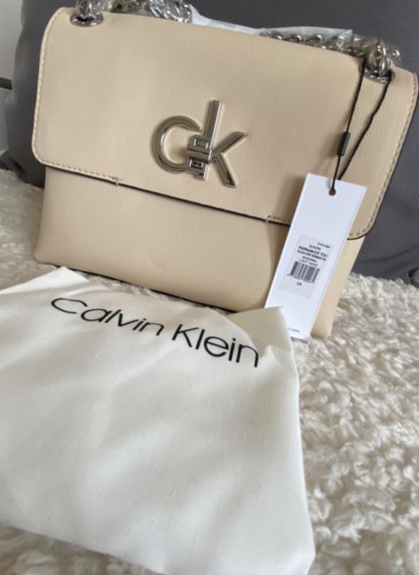 Torba na ramię RE Lock Crossbody Calvin Klein...