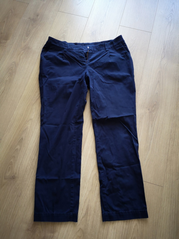 Spodnie granatowe chinosy 14 42...