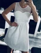 Zara biała sukienka rozmiar xs