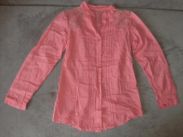 Koszula malinowa damska M