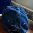 dzinsowa czapka