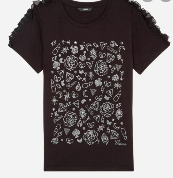 Koszulka czarna guess