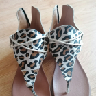Sandały panterka