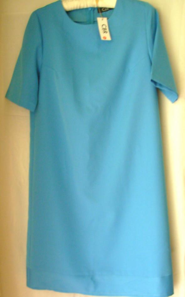 Niebieska sukienka CBR 42...