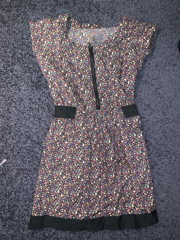 Suknie i sukienki Suknia Review lato kwiaty 34