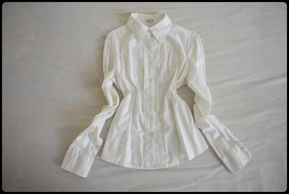 L&H biała elegancka koszula damska rozmiar 40 L...
