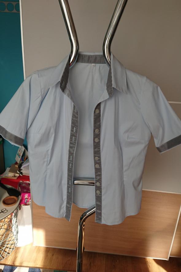 Damska koszula z krótkim rekawem rozmiar L...