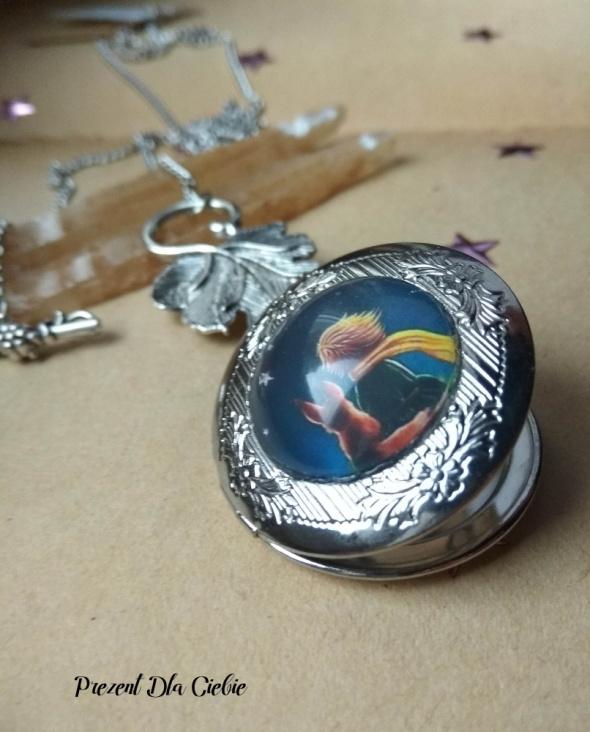 Naszyjniki sekretnik na zdjęcie Mały Książę i Lis gwiazdy