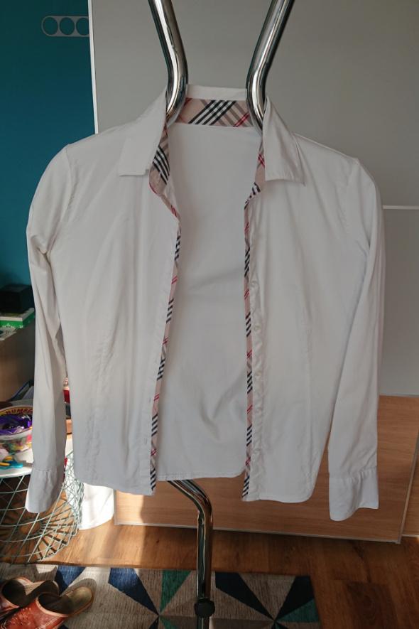Koszula damska biała z długim rekawem...