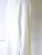 Kombinezon Biały M 38 Elegancki Proste Nogawki Wizytowy...