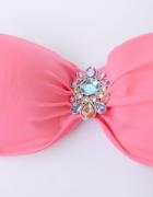 Strój Kostium Kąpielowy Victoria s Secret 34D Różowy Neonowy 75...