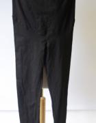 Legginsy Spodnie Czarne H&M Mama S 36 Rurki Ciążowe Ciąża...