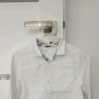 Biała koszula z długim rękawem H&M
