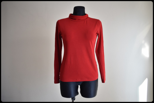 GOLF czerwona bluzka Maxima rozmiar 38 M stan bdb