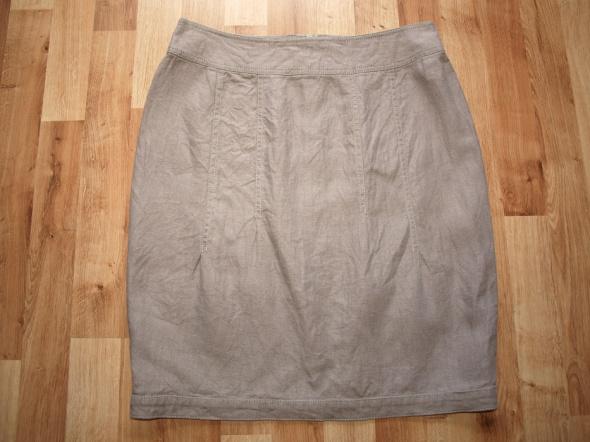 Spódnice Lniana spódnica M