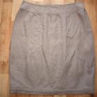 Lniana spódnica M