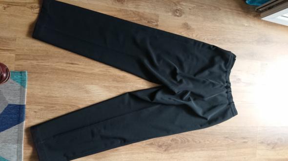 Spodnie damskie eleganckie czarne rozmiar 40
