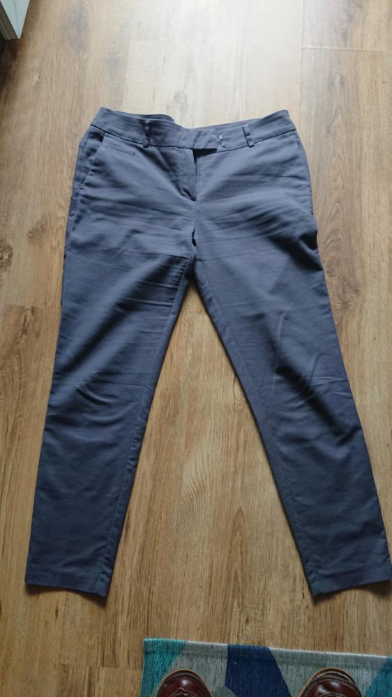 Spodnie damskie ciemnopopielate Camaieu rozmiar 42 L
