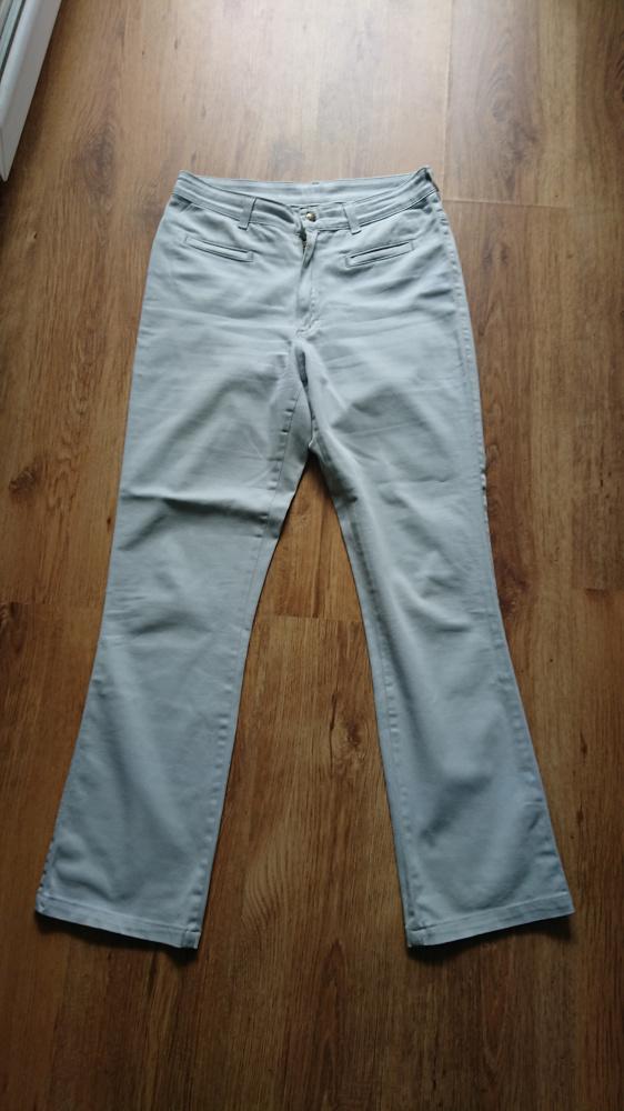 Spodnie jeansowe jasnopopielate damskie Lee rozmiar 3232