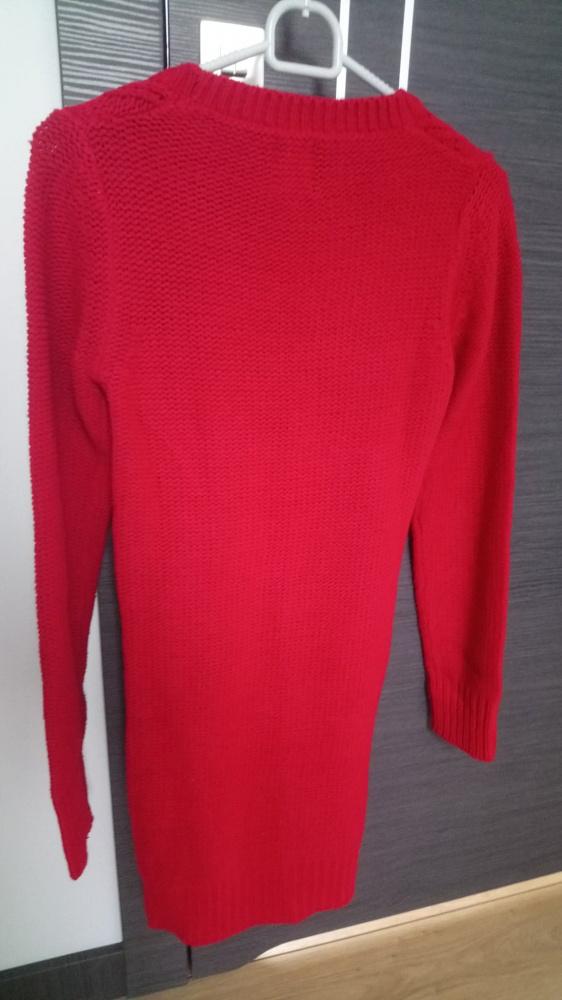 Czerwony sweter z reserved...