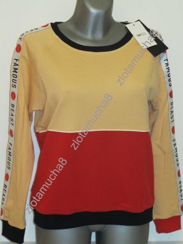 Bluzy PLNY LALA bluza Famous Beast Orange Sweatshirt