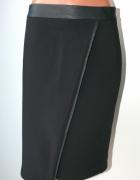 top secret czarna elegancka spódnica 38