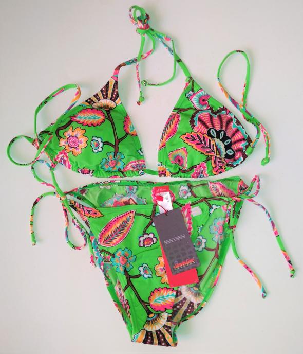 Bikini 38 strój dwuczęściowy kąpielowy opalacze