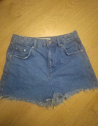 Szorty jeansowe Topshop Mom 36...
