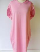 Sukienka Neonowa Oversize Różowa Neon Lindex S 36 Wizytowa...