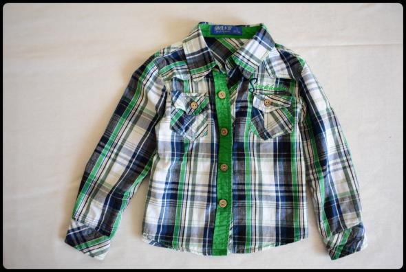 Koszula dla małego chłopca 80 i 86 na około 2 lata