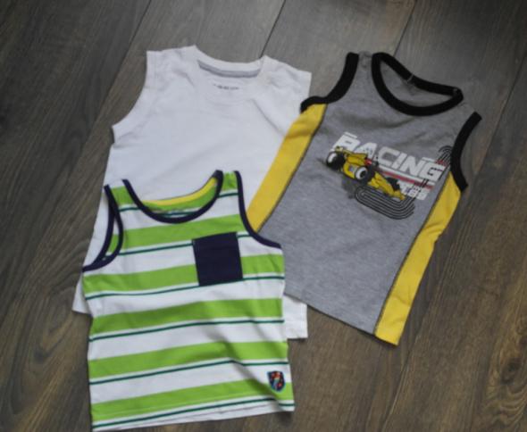 Koszulki, podkoszulki Trzy koszulki 98 104