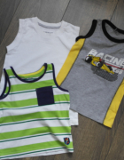 Trzy koszulki 98 104