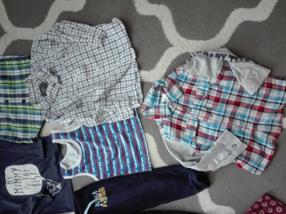 Ubranka dla chłopca rozmiar 86cm