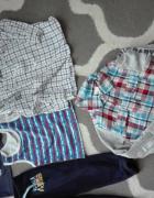 Ubranka dla chłopca rozmiar 86cm...