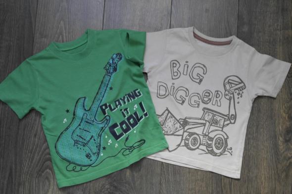 Bluzeczki dwie letnie 92 98